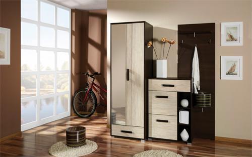 Прихожая дизайн маленькая мебель