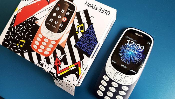 Модель 2017 года - Нокия 3310