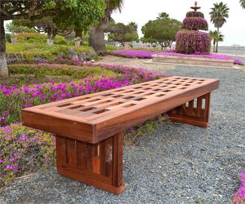 Уличные скамейки для городских территорий