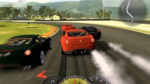 Компьютерные игры: гонки на машинах