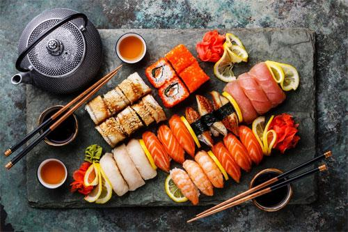 Заказывайте любимую Японскую кухню с доставкой на дом