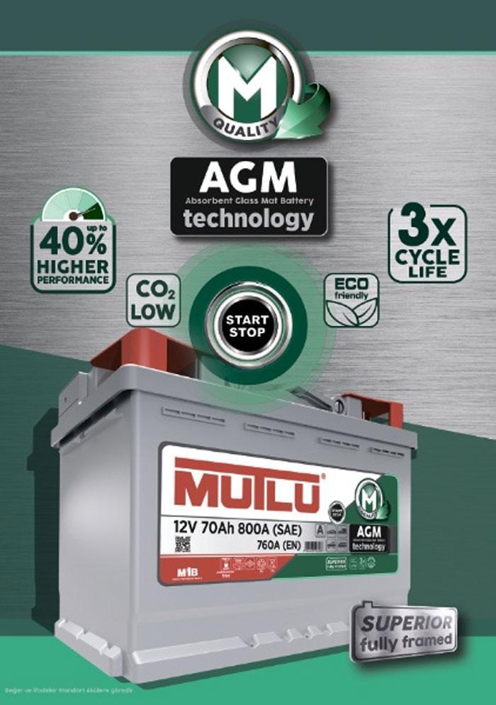Mutlu AGM – идеальный аккумулятор