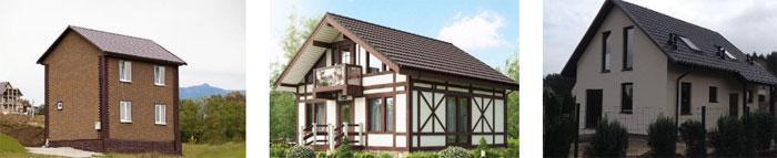 Готовый дом в коттеджном поселке