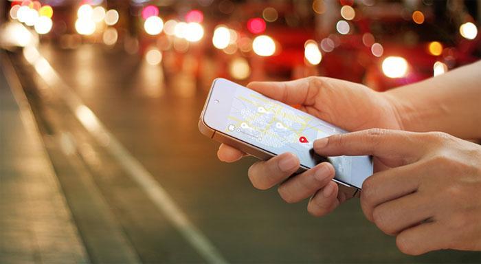 Мобильные приложения с сервисами геолокации