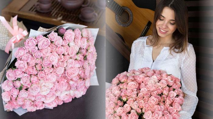 Розы - идеальный букет на все случаи