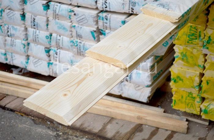 Имитация бруса в строительстве