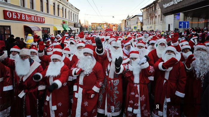 Дед Мороз к новому году готов