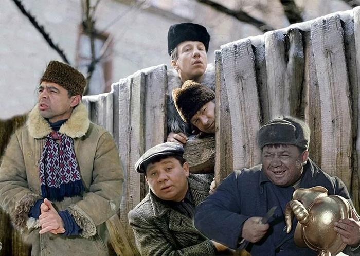 Персонажи фильма