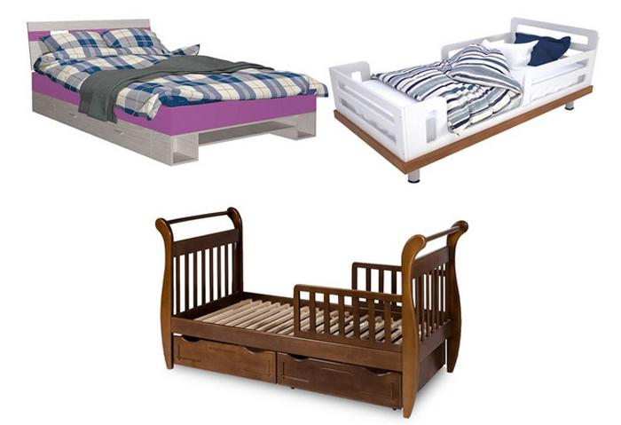 Кровать для ребенка: грамотный подход к выбору